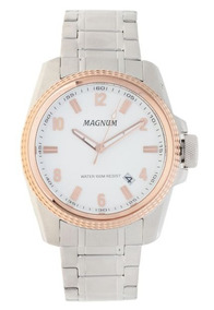 Relógio Magnum Feminino Prateado Ma34085q