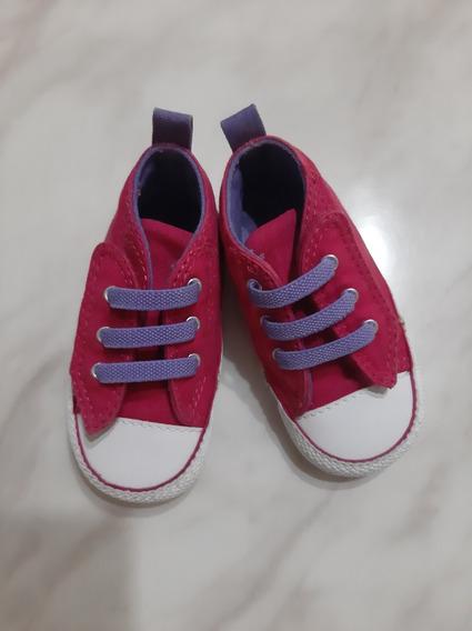 Zapatos Converse Bebé Niña Original Talla 19
