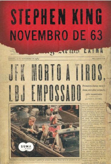 Novembro De 63 - Stephen King - Pague Com Cartão