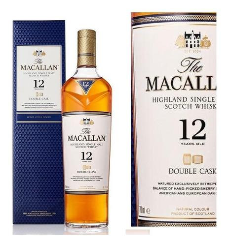 Whisky The Macallan 12 Años Double Cask 700ml Estuche