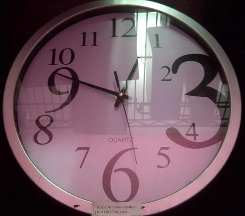 Imagen 1 de 1 de Reloj Pared Grande Redondo Pq 1043 Xavi