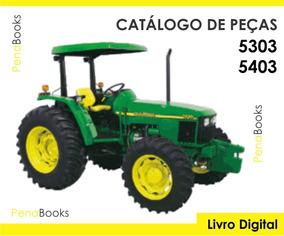 Catálogo Peças Tratores Slc John Deere 5303 5403