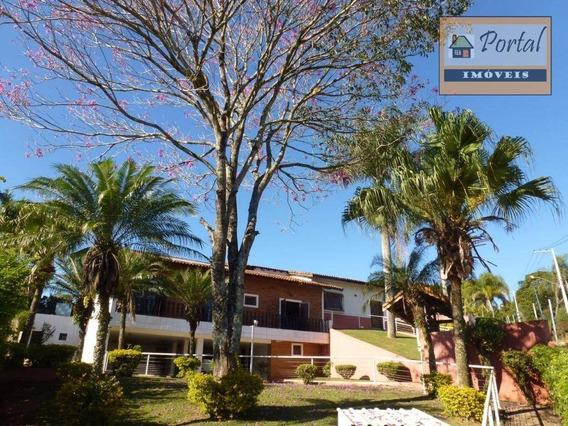 Chácara Com 5 Dormitórios Sendo 3 Suítes - Estância Figueira Branca - Campo Limpo Paulista-sp. - Ch0135