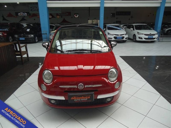 Fiat 500 Lounge 1.4 16v Automático