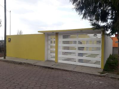 Casa A Media Cuadra De Blvd La Libertad; Apizaco, Tlaxcala