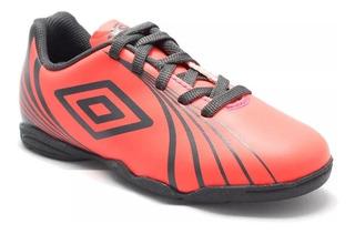 Chuteira Tênis Futsal Umbro Indoor Sprint Coral/grafite 8751