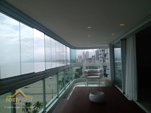 Imagem 1 de 30 de Apartamento Com 4 Dormitórios À Venda, 192 M² Por R$ 1.980.000,00 - Canto Do Forte - Praia Grande/sp - Ap2240