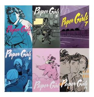 Paper Girls #5-10 - Ed. Planeta - Similar A Stranger Things