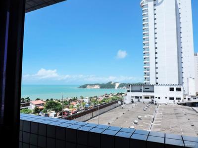 Flats A Venda Em Ponta Negra, Vista Para O Mar
