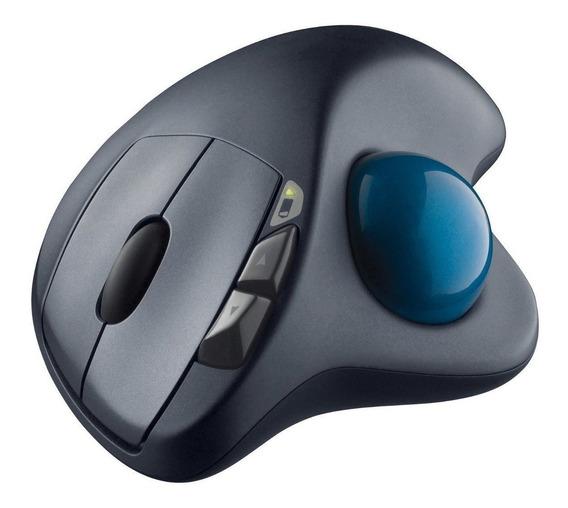 Mouse Laser M570 Trackball S/ Fio 2,4ghz Logitech 12 S/juros