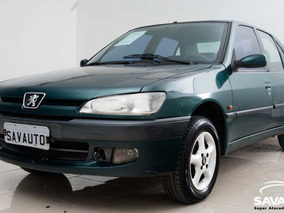 Peugeot 306 Passion Sedan 1.8 Completo 1999 Verde Gasolina