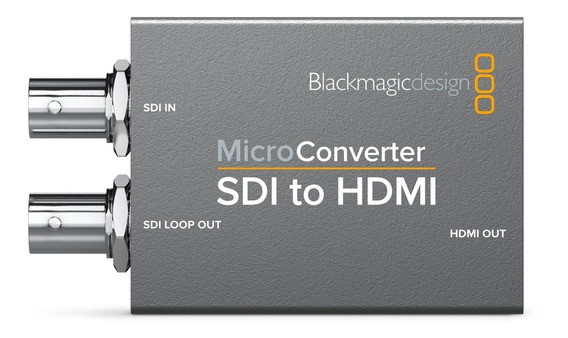 Micro Conversor Blackmagic Sdi P/ Hdmi C/ Fonte Original