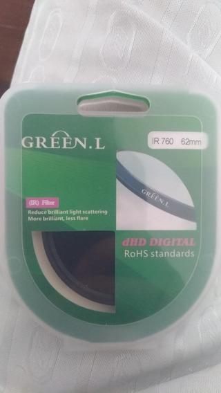 Filtro Infravermelho 760 Green.l 62mm