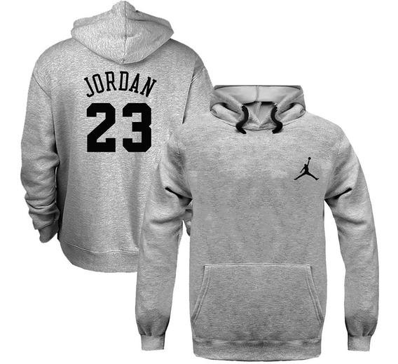 Blusa Moletom Canguru Michael Jordan 23 Chicago Lenda Nba