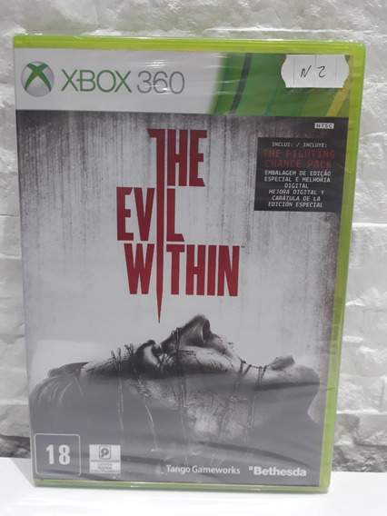 Jogo The Evil Within Xbox 360