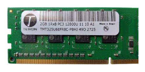 Imagem 1 de 4 de Memória Teikon Pc3-12800u 2gb Desktop