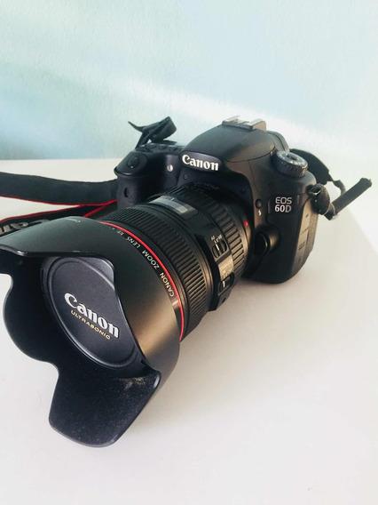 Canon 60d + Lente Ef 24-105