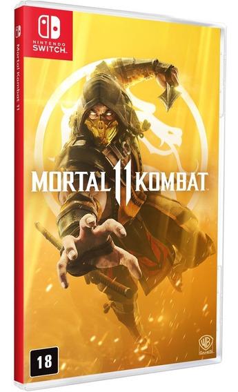Mortal Kombat 11 Switch Mídia Física Lacrado Em Português