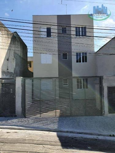 Apartamento Para Alugar, 30 M² Por R$ 850,00/mês - Paraventi - Guarulhos/sp - Ap1192