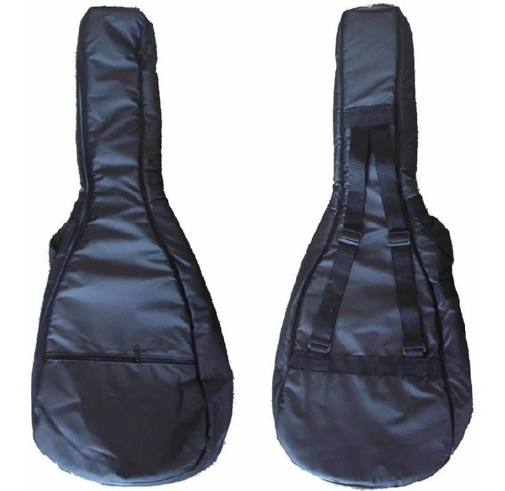Funda Guitarra Criolla Acolchada Impermeable Doble Correa