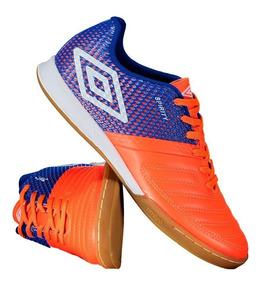 Chuteira Umbro Spirity Futsal Coral