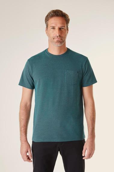 Camiseta Bolso Jacquard Reserva