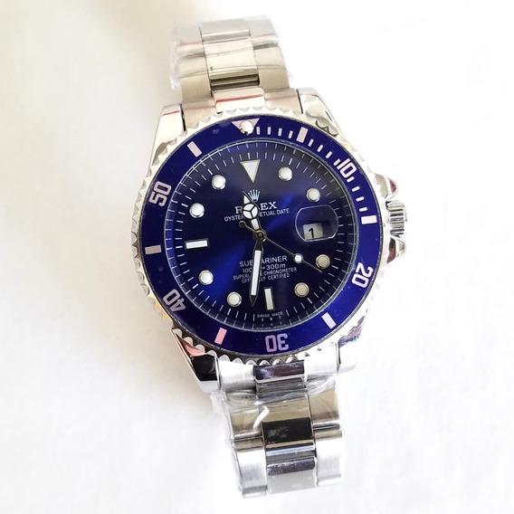 Reloj Azul Acero Envio Gratis