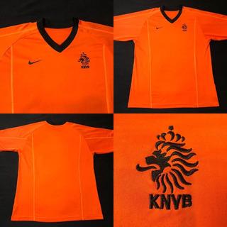 Camisa Seleção Holanda 2001-2002 Home Tam G (77x57)