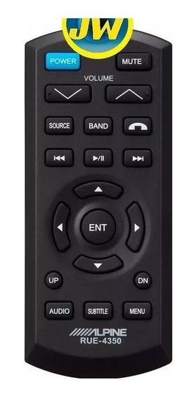 Control Remoto Alpine Para Estéreos / Dvd Rue-4305 4350 Orig