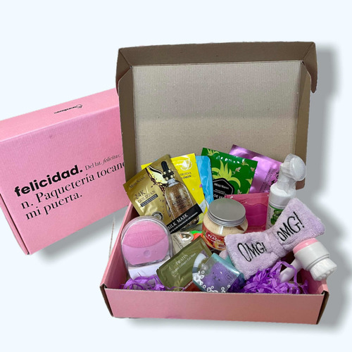 Imagen 1 de 2 de Caja Skin Care Box Regalo Mamá Maquillaje