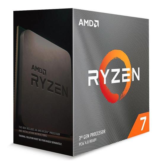 Processador Amd Ryzen 7 3800xt 3.9ghz 36mb Am4 Sem Cooler -