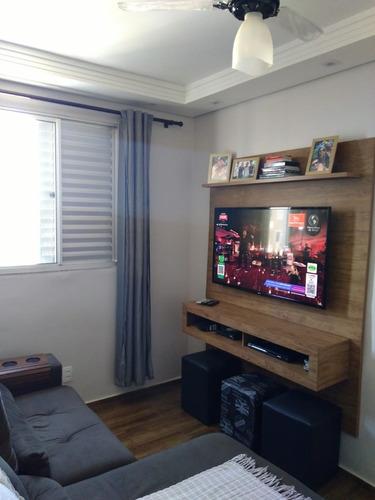 Lindo Apartamento Inteiro Reformado Para Venda No Iguatemi, Cond. Reauville, 2 Dormitorios 1 Suite, Sala Ampliada Em 62 M2, Lazer Completo - Ap02146 - 68239791