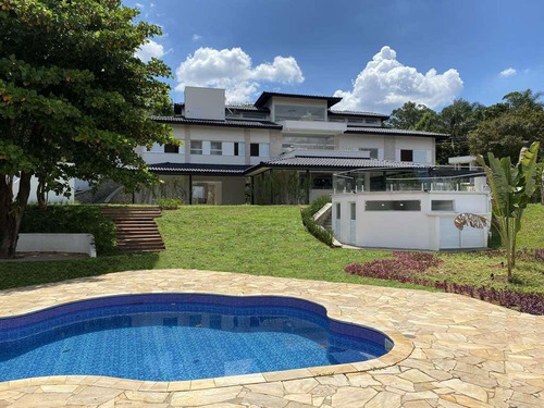 Casa Com 4 Dormitórios Suítes À Venda, 735 M² Por R$ 3.400.000 - Granja Viana Ii - Cotia/sp - Ca3245