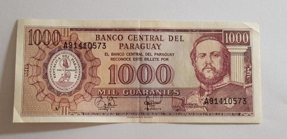 Billete De Paraguay - 1000 Guaraníes Serie A (1944-2006)
