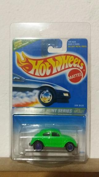 Vw Bug Beetle Theasure Hunt Series 1995 Hotwheels 1.64