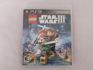 Lego Star Wars 3 Original The Clone Wars Para Ps3