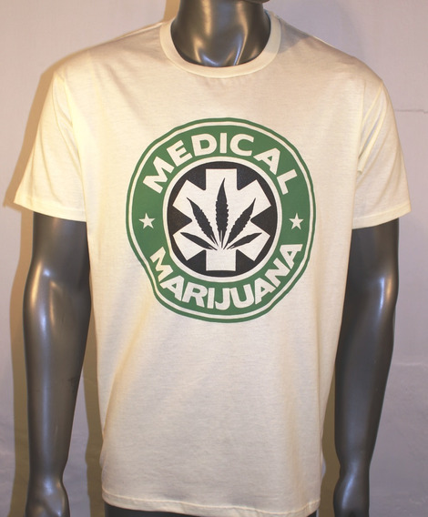 Remeras Medical Marijuana The Flea Serigrafia La Loca Rola