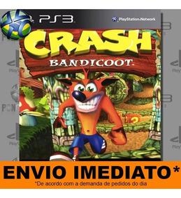 Jogo Ps3 - Crash Bandicoot I - Promoção Midia Digital Psn