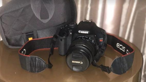 Camera Digital Canon T3i / 600d Com Bolsa E Lente 18-55mm