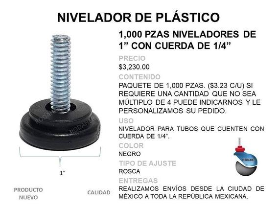 Nivelador De 1 C/cuerda De 1/4 Paq. 1000 Pzas.