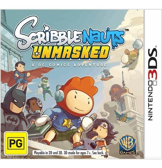 Scribble Nauts Unmasked - Nintendo 3ds