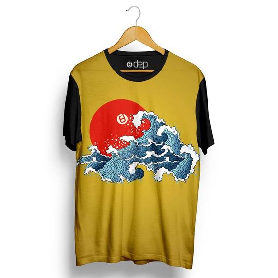Camiseta Dep Onda Amarela Original