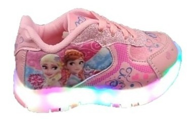 Tenis De Niña De Luces Frozen Little Kids Del # 13 Al 21.5