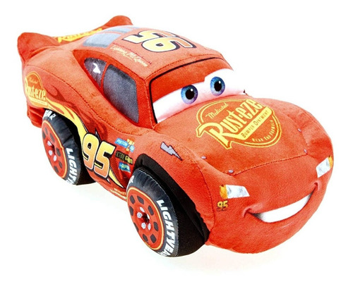 Peluche 27cm Rayo Mcqueen Cars Disney Pixar