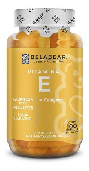 Suplemento Vitamina E 100 Gomitas Antioxidante Belabear