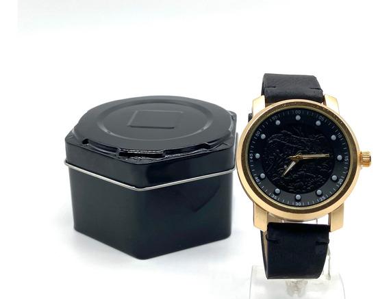 Kit 2 Relógio Masculino Dragão + Caixa Barato Importado
