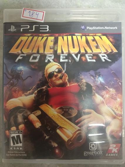 Jogo Sony Ps3 Duke Nukem Forever Original Lote184