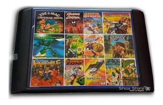 Cartucho Sega Genesis 109 Juegos Los Mejores Sonic Palermo