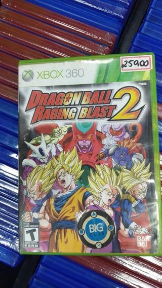 Dragon Ball: Raging Blast 2 Xbox 360 Original Frete 18 Reais