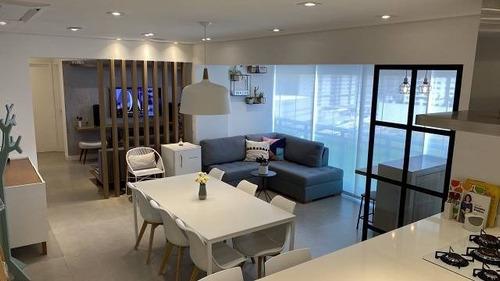 Imagem 1 de 20 de Rrcod3455 - Lindo Apartamento Condominio One Gramercy Park - 98mts - 02 Dorms - Sala Ampliada - 02 Vagas - Oportunidade - Ótima Localização - Rr3455 - 69354417